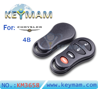 Chrysler 4 button remote shell